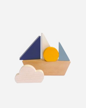 더 원더링 워크샵 The wandering workshop Minimalistic boat