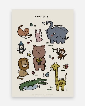 Things a lot Animals poster